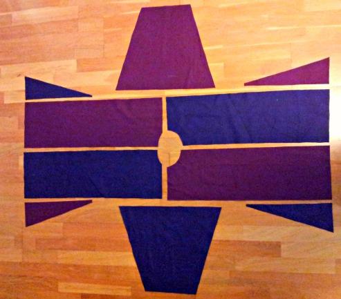 Ferdig klippet barnekjortel til Bergenhusdagene