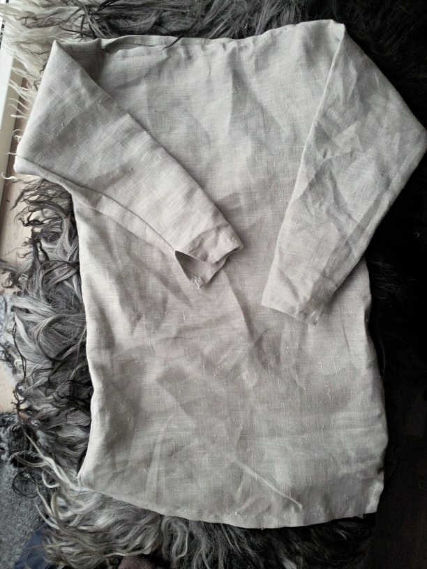 Linkjortel med båthals