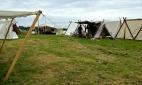 Handelsboder på Askøy vikinglag sin marknad på Herdla