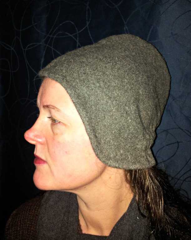 Ferdig kyse / The bonnet is finished