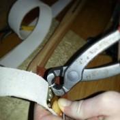 Naglene må avkortes før de klinkes / Before riveting, the nails must be shortened