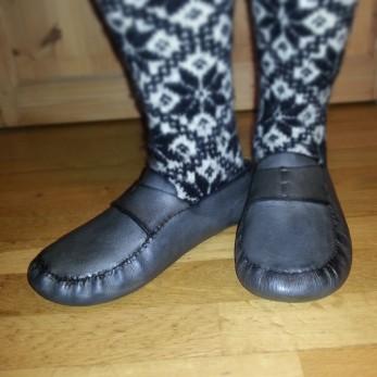 Husbonden med bra fottøy / Proper footwear