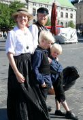 Fortidsfamilien anno ca 1900