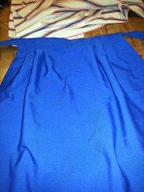 Kopi av 1800-talls forkle laget av Randi Stoltz / Replica of 1800s apron by Randi Stoltz