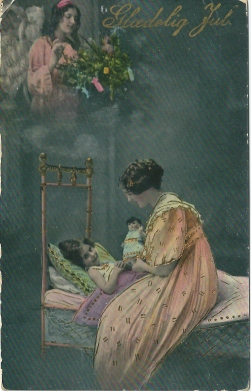 Julefortelling om englenes sang i 1915 / Hear the angels song 1915