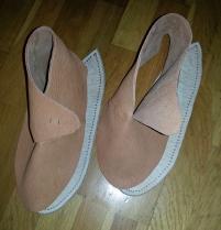 Overlær og såler / Uppers and soles