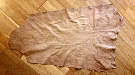 Hosene før de er sydd sammen / Hoses before sewn together