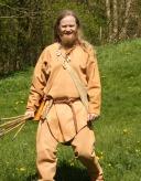 Espen henter kastespyd / Espen fetching throwing darts