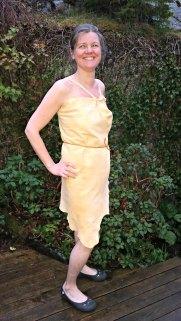 Omslagskjole som underplagg eller sommerkjole / Underwear or summer dress