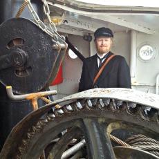Fjordaåten og dampskipet Stord 1 var en ypperlig plass å være for å se på rokonkurransen / On board the steamship