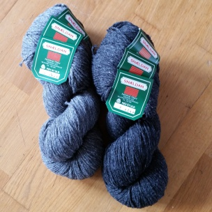 Færøygarn kjøpt på Danmarksferie / Faroe yarn bought on vacation in Denmark