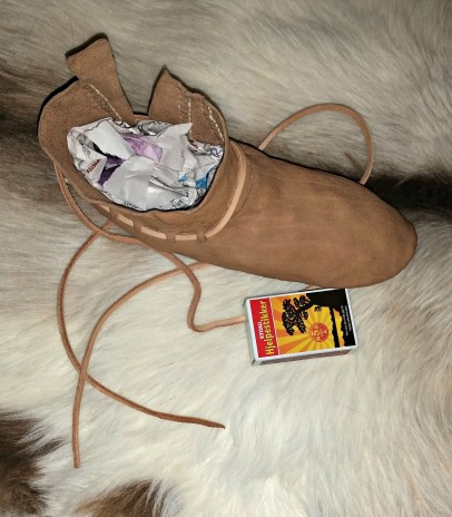 Forsøksutgaven til Espen (NB! uten kanting) / The test shoe (NB! no edging)
