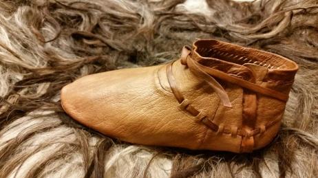 Ferdig sko, venstre side / Finished shoe, left side