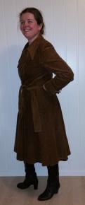 Kåpe fra 1970-tallet / Coat from the 1970s