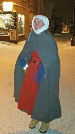 På vei til kinaresturanten som fikk besøk av et kobbel middelaldermennesker / On the way to the restaurant for dinner