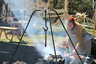 Ulike kokekar fra jernalderen / Different cooking wessels from the Iron Age