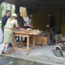 Bronsestøpegjengen i Bjørgvin Handverkslag / The bronze casting team in action
