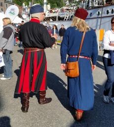 Espen og Stig på Hansamarkedet / Espen and Stig at the market