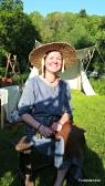 Mange var misunnelige på stråhattene våre / A lot of participans envied us our straw hats