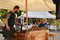 Henrik smed og hjelperen Malvin / The blacksmith and his helper, Malvin