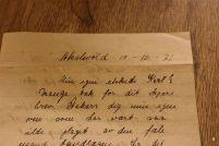 Min egen elskede Karl! Mange tak for dit kjære brev. / My own beloved Karl! Lots of thanks for your dear letter