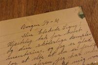 Min elskede Signy! Hjertelig tak for brevet og for din skøierlige komplementering... / My love Signy! Heartly thanks for the letter, and your fun complements...