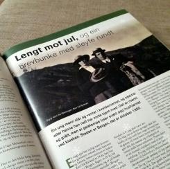 I Melandjul er det nynorskversjon av artikkelen - Lengt not jul...