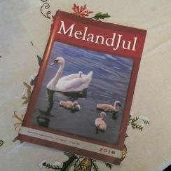 Meland Målag sitt julehefte. Her er mange interessante andre artikler også.