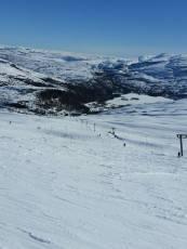 Skitur på Kvamskogen / Slalom skiing in the mountains just outside Bergen