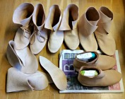 Påskens skoproduksjon / This Easter's shoe production
