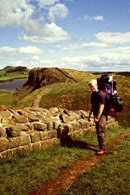 Espen i romernes fotspor 1993 / Following the Roman wall 1993