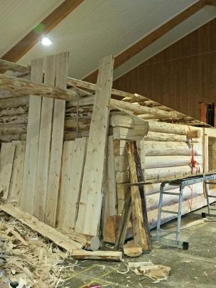 Neste bygning til middelaldertunet / The next building for the Medieval farm