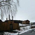Inngangen til middelaldergården Stiklastadir / The entrance of the Medieval farm Stiklastadir