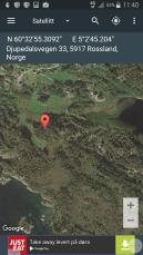 Kartfesting av steinalderboplass / Mapping a Stone Age site