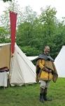 Stian på besøk i leiren / Stian visiting the camp