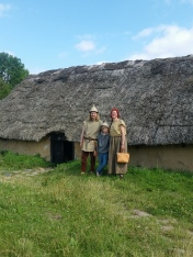 Vår lille jernalderfamilie / Our small Iron Age family