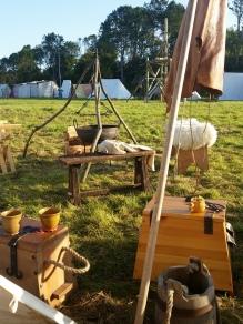 Utsikt fra teltet / View from our tent