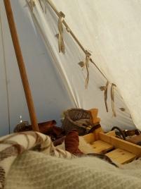 God morgen i teltet, sol hele helgen / Good morning in the sunshine!