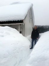 Skikkelig vinter! / Real winter!
