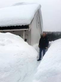 Skikkelig vinter! / Real winter!