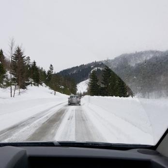 På ville vinterveier i Vest-Agder / Winter roads in southern Norway