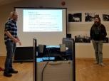 Espen og Hans Gunnar moraliserer om historiske sko / Espen and Hans Gunnar moralizing about historical shoes