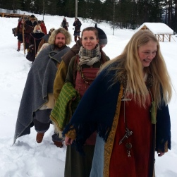 Glade vintervikinger / Happy winter Vikings