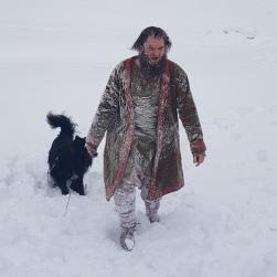 Vikingsnømann / Viking snowman