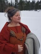 Katja Regevik, arrangøren av det hele / Katja Regevik, the one who organized both events