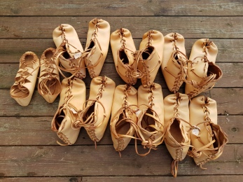 Ferdige sko / Finished shoes