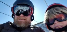 Skiheisselfie / Ski lift selfie
