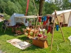 Nok en oversikt over leiren / Another View of our camp