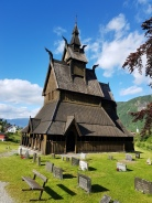 Roadtrip til Sogndal og Lerum cup - Hopperstad stavkirke i Vik / We stopped to se Hopperstad stave church on our way to Sogndal