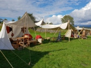 Leiren vår / Our camp
